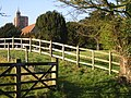 Path alongside graveyard at Ringwould - geograph.org.uk - 1097598.jpg