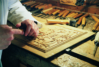 Wood carving Form of working wood by means of a cutting tool