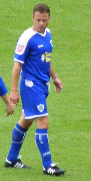 Paul Dickov - Dickov playing for Leicester City in 2008