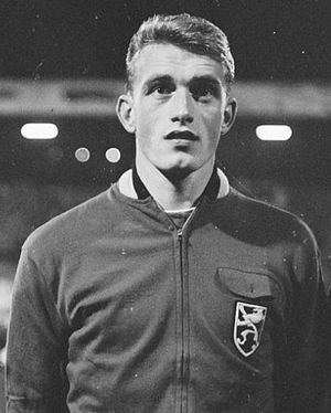 History of the Belgium national football team - Paul Van Himst is considered one of Belgium's best players ever.