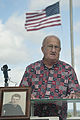 Pearl Harbor Survivor Theodore F. Roosevelt ashes placed aboard USS Utah 140320-F-AD344-062.jpg