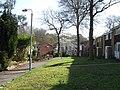 Pedestrian access to houses, Oak wood Drive - geograph.org.uk - 1809096.jpg