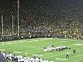 Penn State vs. Michigan football 2014 17 (Michigan field goal).jpg