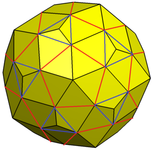 Pentagonal hexecontahedron - Image: Pentagonal hexecontahedron variation 0