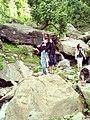 People at Dhani Waterfall, Azad Kashmir 2.jpg