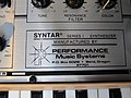 Performance Music Systems Syntar logo, PNW SynthFest 2013.jpg