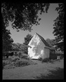 Perspective view of meathouse from southeast. - Tucker House, 124 South Commerce Street, Centreville, Queen Anne's County, MD HABS MD-1387-5.tif