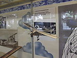 Petőfi Csarnok, Repüléstörténeti kiállítás, Spirit of St. Louis.JPG