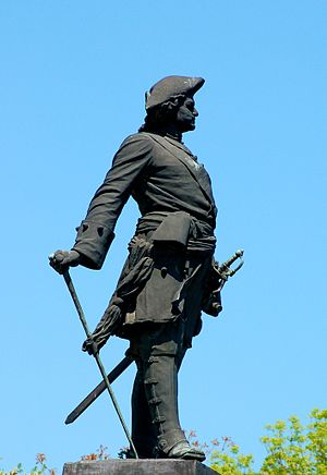 Peter I Monument in Taganrog - close-up (2006)