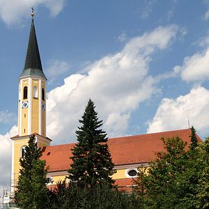 Adlkofen - Church of st. Thomas in Adlkofen