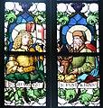 Pfarrkirche Weitnau Nothelferfenster Georgius Eustachius.jpg