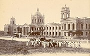 Photograph of the D.J. Sind Arts College (now known as the D. J. Government Science College) of Karachi 1893