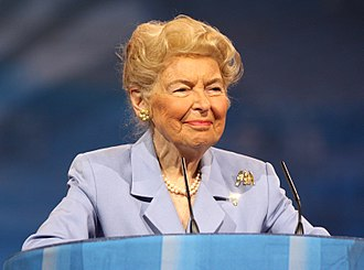 Phyllis Schlafly - Schlafly speaking at CPAC 2013 in Washington, D.C.
