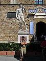 Piazza della Signoria din Florenta14 - Statuia lui David.jpg