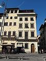 Piazza santa croce 4-5, case dei barberini 02.JPG