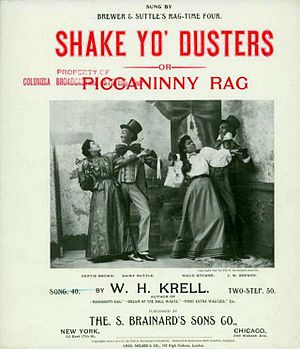 1933 in jazz - Shake yo' dusters, or, Piccaninny rag, by W. H. Krell, 1898
