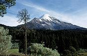 Volcán Citlaltépetl con 5,610 m de altura