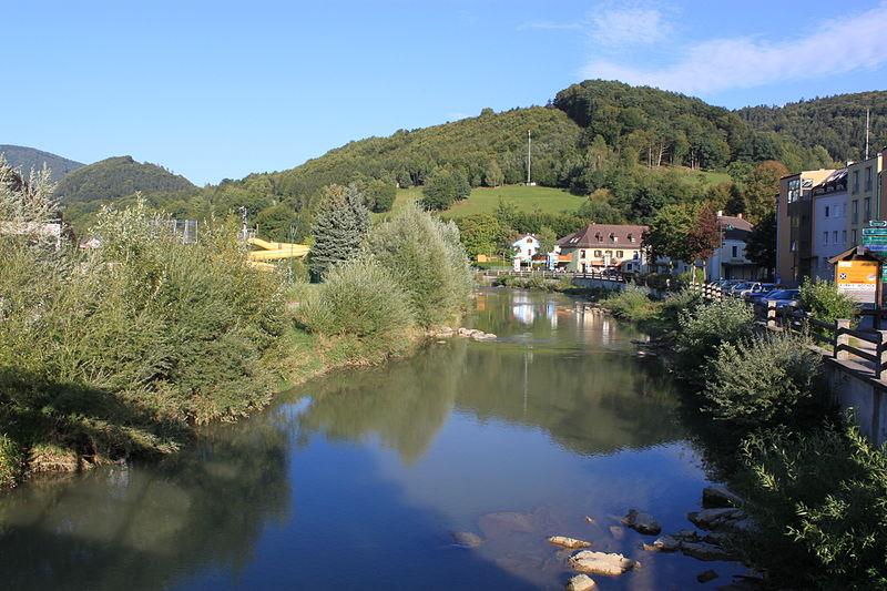 File:Pielach in Kirchberg an der Pielach 01.jpg