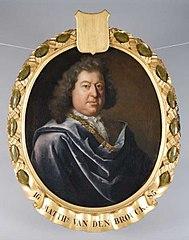 Portret van Matthias van den Brouck of Broecke (?-1716)