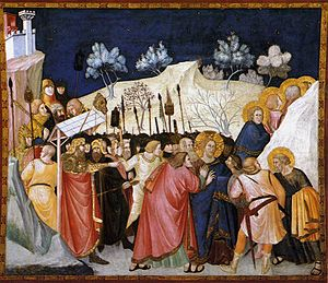 Pietro Lorenzetti - The Capture of Christ - WGA13507.jpg