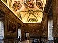 Pietro da Cortona, il gobbo dei carracci (Pietro Paolo Bonzi) e paul bril, galleria con storie di Salomone e della regina di saba, 1615-20 ca. 02.jpg