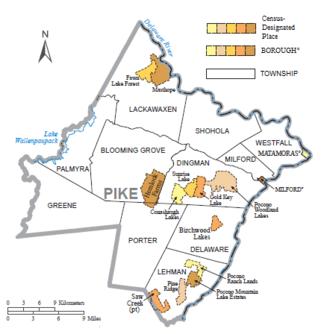 Pike County Pennsylvania  Wikipedia