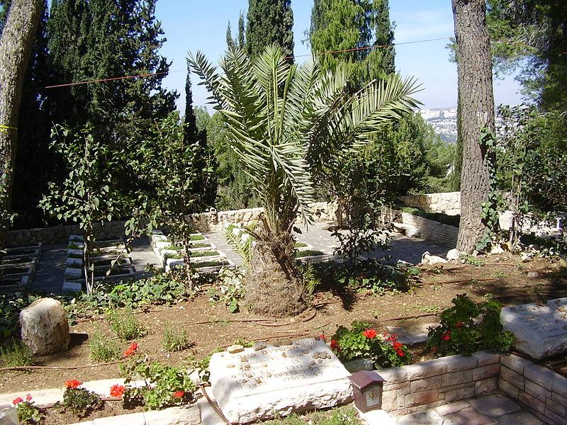 קבר אבשלום פיינברג בהר הרצל
