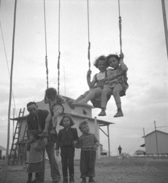 ילדים במפעל האשלג בסדום