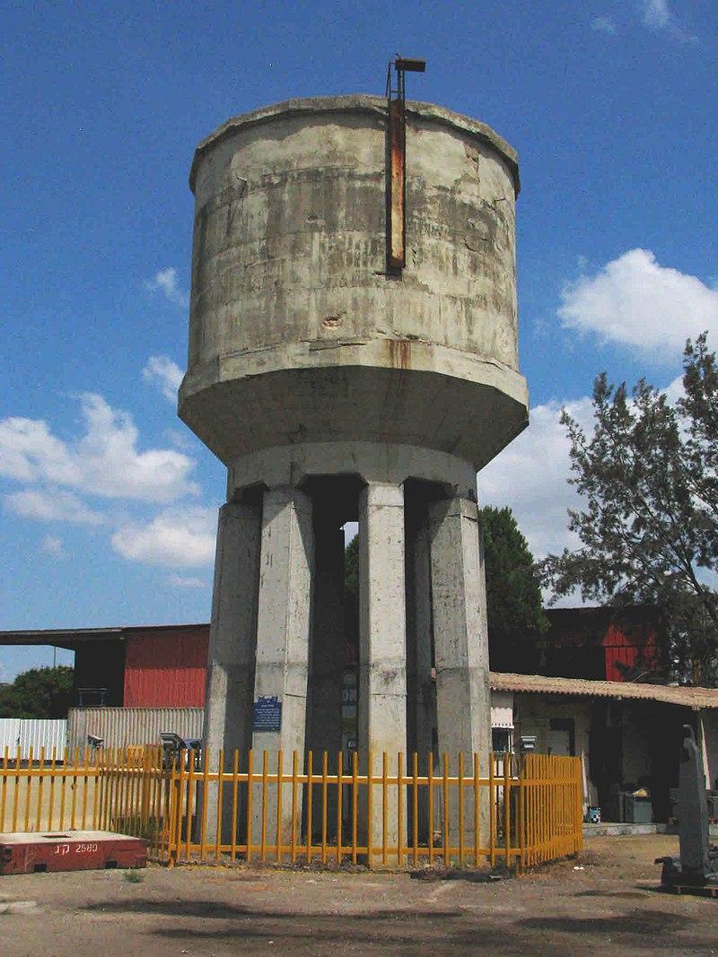מגדל המים ברמת דוד