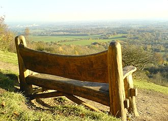 Pilgrims' Way - On the Pilgrims' Way near Trottiscliffe, Kent