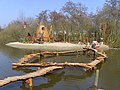 Pirateneiland bij Sotterum Chaletverhuur @ 'De Holle Poarte' in Friesland. - panoramio.jpg