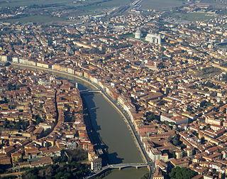 Pisa Comune in Tuscany, Italy