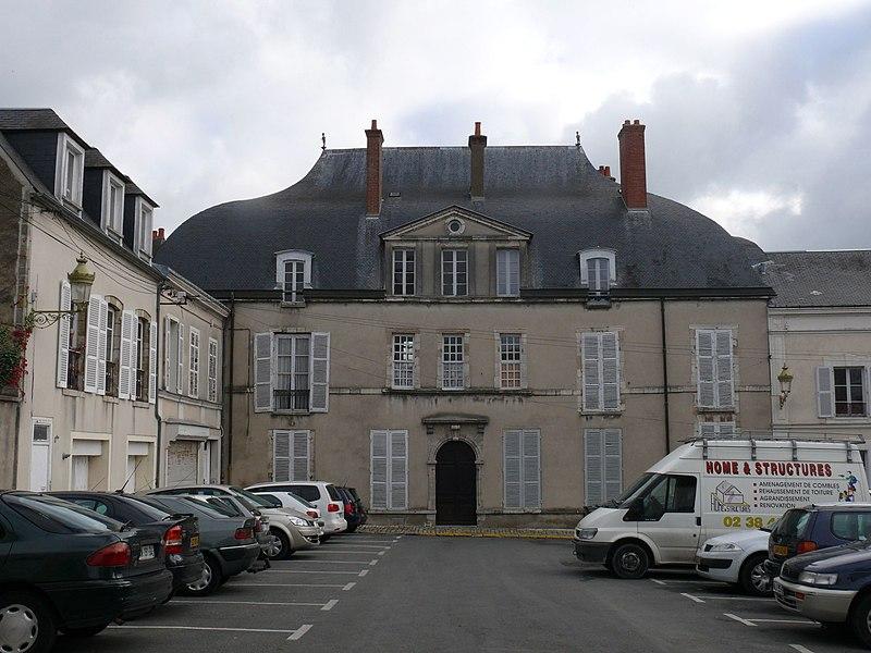 """The """"château de l'Ardoise"""", in Pithiviers (Loiret, France)."""