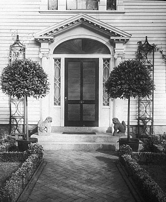 Benjamin Pitman (Hawaii) - Pitman family house in Brookline, Massachusetts