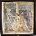 Pittice che termina quadro con erma di dioniso, da casa dell'imperatrice di russia a pompei, 9017.JPG