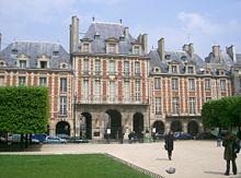 Place Des Vosges Wikipedia