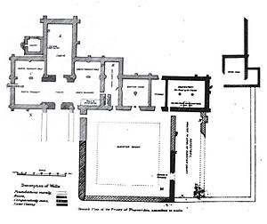 Pluscarden Abbey - Plan of Pluscarden Abbey