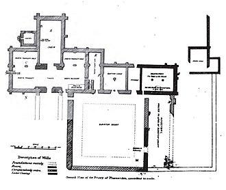 Pluscarden Abbey - Plan of Pluscarden Abbey
