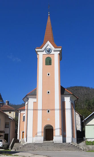 Planina, Postojna - Saint Roch's Church