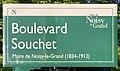 Plaque Boulevard Souchet - Noisy-le-Grand (FR93) - 2021-04-24 - 1.jpg