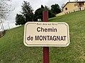Plaque chemin Montagnat St Jean Veyle 2.jpg