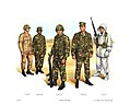 Plate X, Field Uniforms - U.S. Marine Corps Uniforms 1983 (1984), by Donna J. Neary.jpg