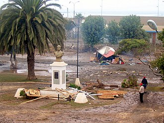 2010 Pichilemu earthquake - The city of Pichilemu suffered major damage in the 27 February 2010 earthquake and tsunami.