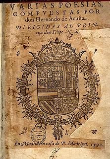 Hernando de Acuña