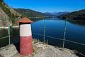 Pohled na přehradu z vyhlídky.JPG