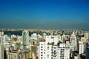 Pollution over São Paulo (Jardins)