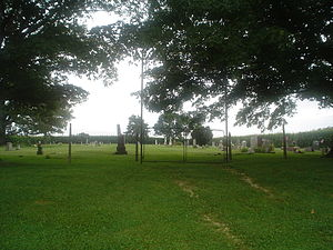 Buffalo Grove, Ogle County, Illinois - Picture from the road of Reed Cemetery.