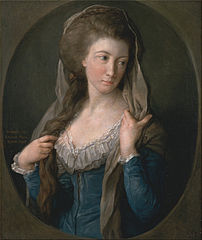 Portrait of a Woman, traditionally identified as Margaret Stuart, Lady Hippisley