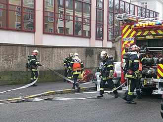 Intervention des sapeurs pompiers for Ministere exterieur france