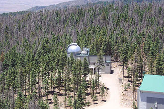 Vatican Advanced Technology Telescope - VATT from the balcony of the nearby LBT